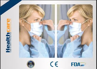 Disposable Sterile Surgical Masks , Face Mask Medical Use For Mouth Protection